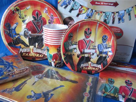 Power Rangers Decorations by Power Rangers Birthday On