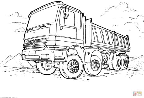 libro the last lorry a pickup truck coloring pages bestofcoloring com