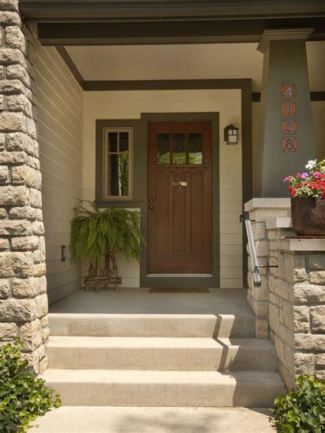 Front Side Windows Ideas Craftsman Front Door Houzz