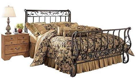 Metal Sleigh Bed Frame Pin By Tapia On Home Decor