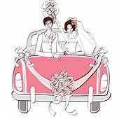 Pink Wedding Car PNG Clipart  Download Free Images In