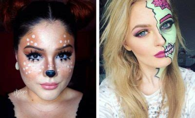 easy diy halloween makeup  stayglam