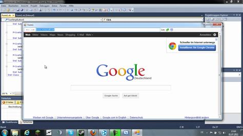 tutorial visual basic c visual basic tutorial webbrowser tools youtube