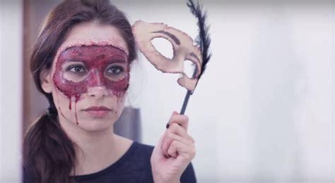imagenes halloween para la cara maquillaje para halloween paso a paso y antifaz