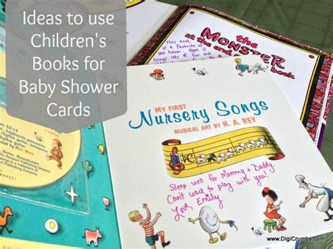 writing childrens books for 1118356462 ideas to use children s books for baby shower cards ruby claire baby fever and