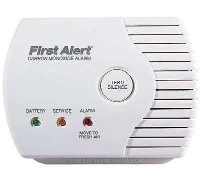 first alert carbon monoxide alarm red light bluelight special first alert carbon monoxide alarm