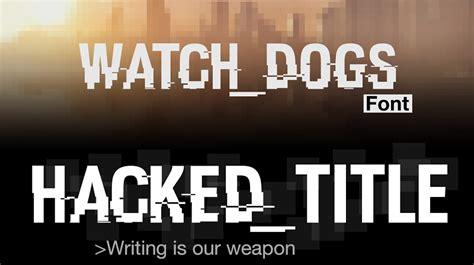 dafont glitch hacked font dafont com