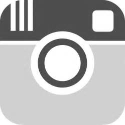 White Instagram Logo Outline by Instagram Black And White Clipart Clipart Suggest
