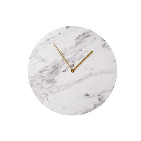 3d Design Kitchen by Marble Wall Clock By Norm Architects Dimensiva