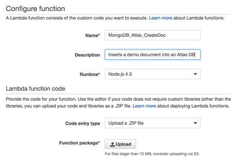 node js aws tutorial node js aws lambda and mongodb atlas code tutorial