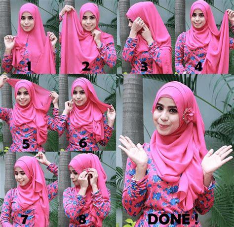 tutorial hijab simple ke kondangan 7 tutorial gaya jilbab ini memang butuh sedikit usaha