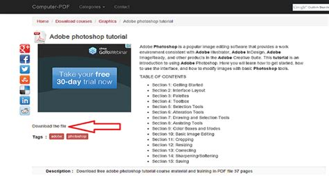 tutorial adobe photoshop 10 free ebooks to learn photoshop for beginners
