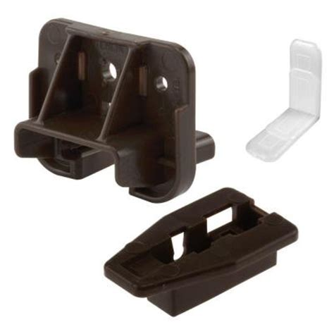Plastic Drawer Slide Guides by Prime Line Drawer Track Guide And Glide 2 Sets R 7321