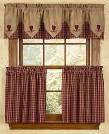 Primitive Country Kitchen Curtains Bj S Country Charm Handmade Country Primitive Homespun Valances Curtains Dolls Decor More
