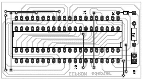 eprom adapter  atmel  series flash microcontroller