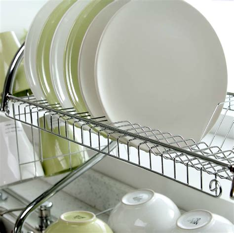 Rak Piring Stainless Steel Untuk Kitchen Set jual rak piring stainless steel ezy living