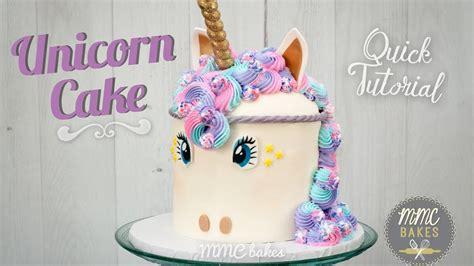 unicorn tutorial unicorn cake tutorial mmc bakes my crafts and