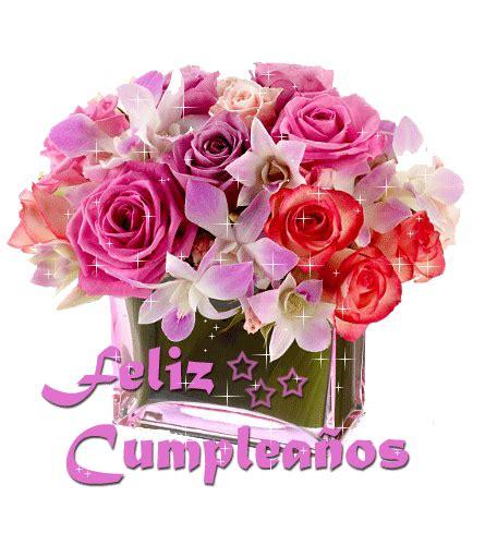 imagenes de feliz cumpleaños con flores para hermana 174 colecci 243 n de gifs 174 gifs de feliz cumplea 209 os