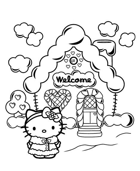 hello kitty christmas coloring pages online hello kitty christmas coloring pages use this hello