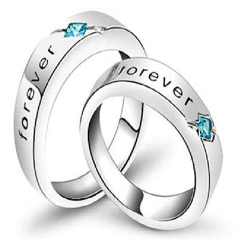 promise rings for couples set