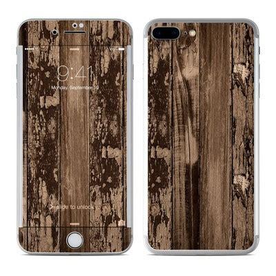 Iknowxskin Skin Garskin Iphone 7 Wood apple iphone 7 plus skin stripped wood by reclaimed