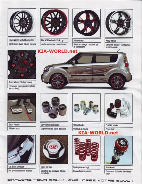 Kia Soul Aftermarket Parts Kia Soul Accessories Parts Worth Considering Kia