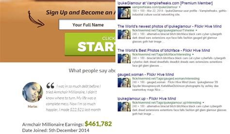 scam warning armchair millionaire system by lewis grossman