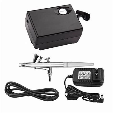 Mini Compressor Airbrush Set pinkiou airbrush makeup kit spray gun set with mini compressor for cake decoration nail painting