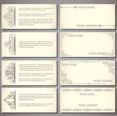 free business card templates best photos of template of card free business card