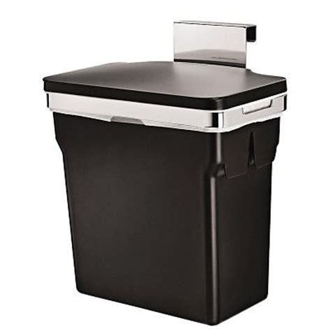 In Cupboard Kitchen Bin simplehuman in cupboard bin 10l black