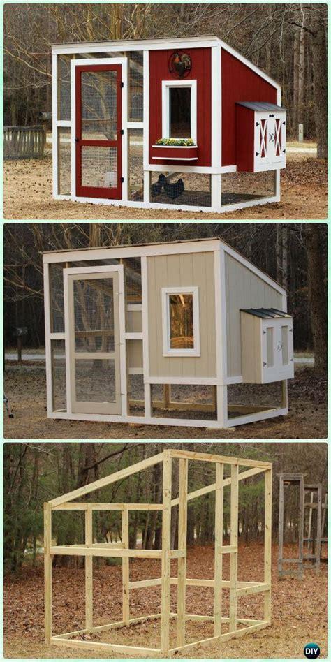 diy wood chicken coop  plans instructions