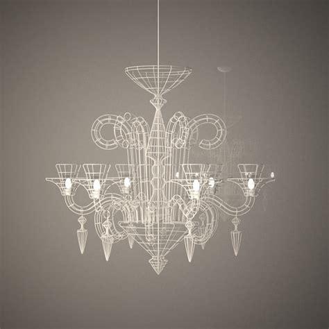 chandelier wire 3d max wire chandelier atelier abigail
