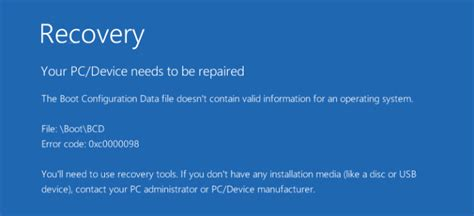 how to fix your pc device needs to be repaired driver easy