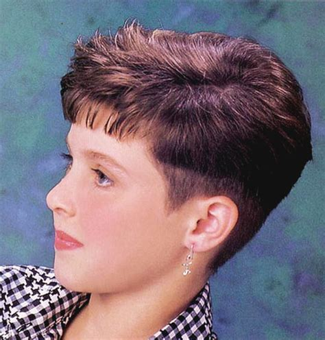 buzzed wedge haircut short clippered haircuts for women