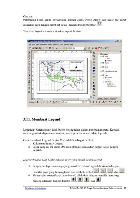 cara membuat layout di arcgis 10 1 tutorial arcgis 931