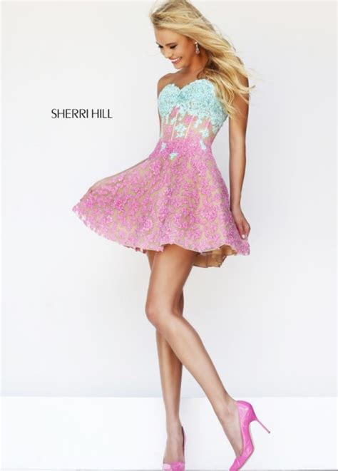 Pink Blue Dress pink blue prom dresses prom styles