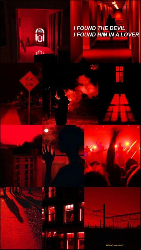 red aesthetic wallpaper aesthetic lockscreen dark red