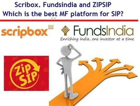 fundsindia mutual fund invest online in best mutual funds scribox fundsindia and zipsip which is the best mutual