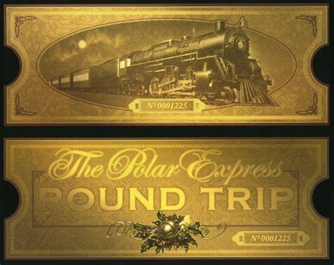 film natal the polar express printable polar express train ticket christmas