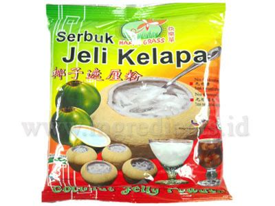 Grass Jelly Powder Premix tepung premix