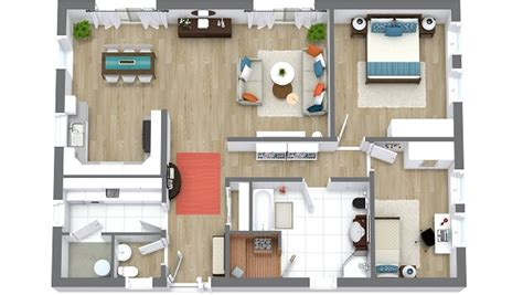 Create 3d House Plans create beautiful 3d floor plans online roomsketcher blog