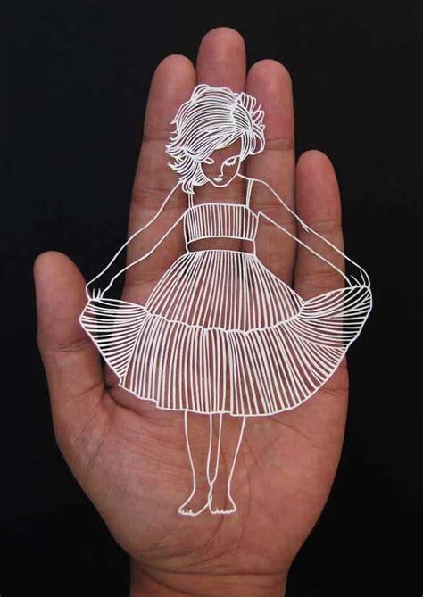 parth kothekar creates  stunning  unique paper cut art