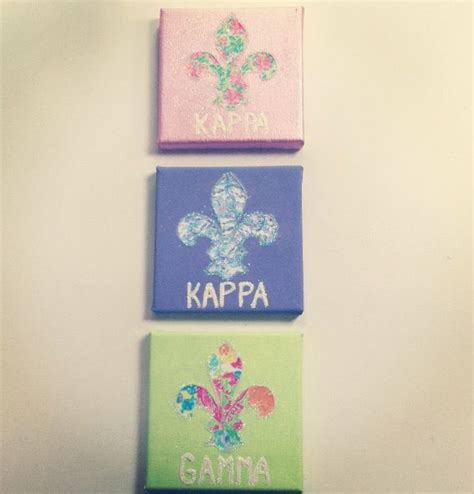kappa kappa gamma colors 1000 images about sorority canvas sign saying on