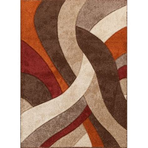 burnt orange and brown area rugs orange and brown rug roselawnlutheran