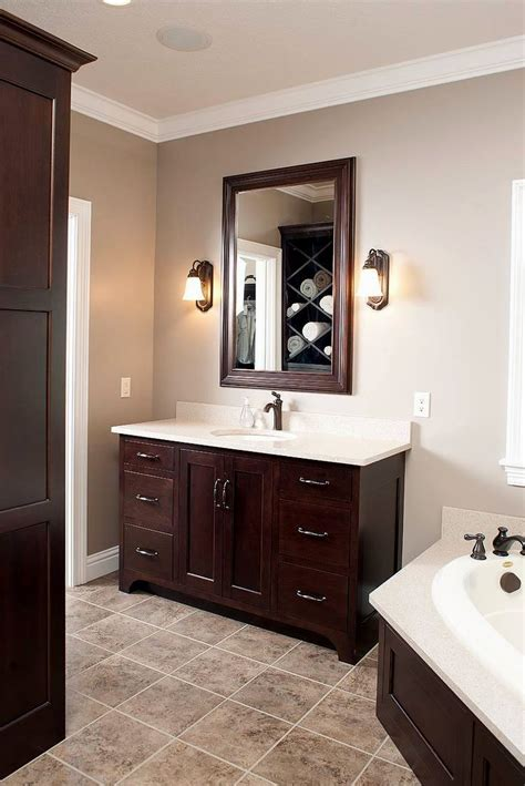 What Color To Paint Bathroom Cabinets by Bathroom Paint Colors With Cabinets Bathroom Design