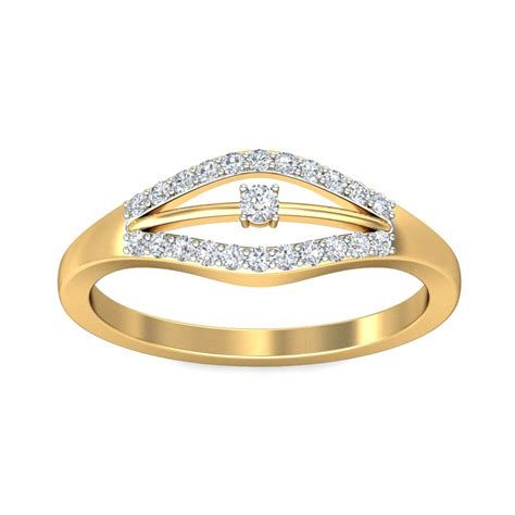 solitaire engagement ring real certified 0 16 ct solid gold