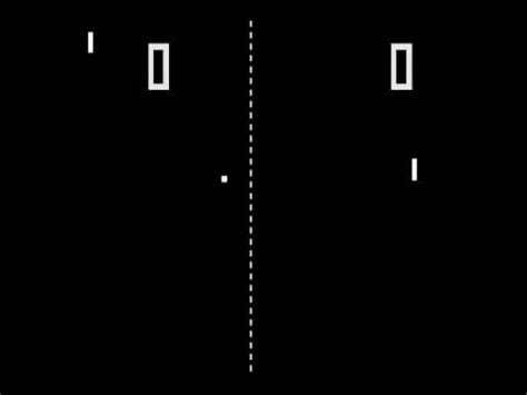 ping pong the original arcade game pong 1972 atari re uploaded youtube