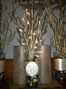 50th birthday centerpieces for 50 th anniversary centerpiece formal ideas