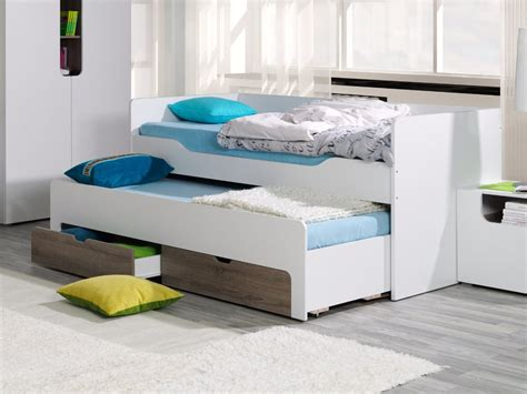double bed with trundle double trundle beds arthauss furniture