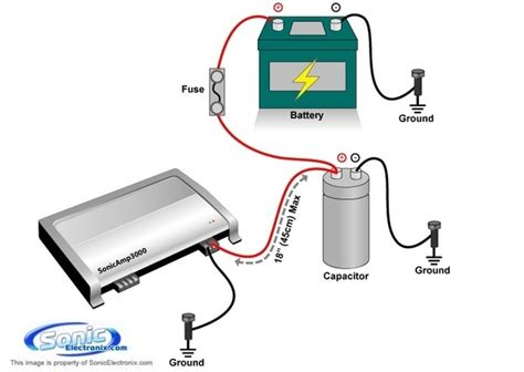 how does a capacitor work for subwoofers why a capacitor of higher value is preferable quora